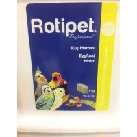 ROTİPET KUŞ MAMASI EGGFOOD MOİST 5 KG